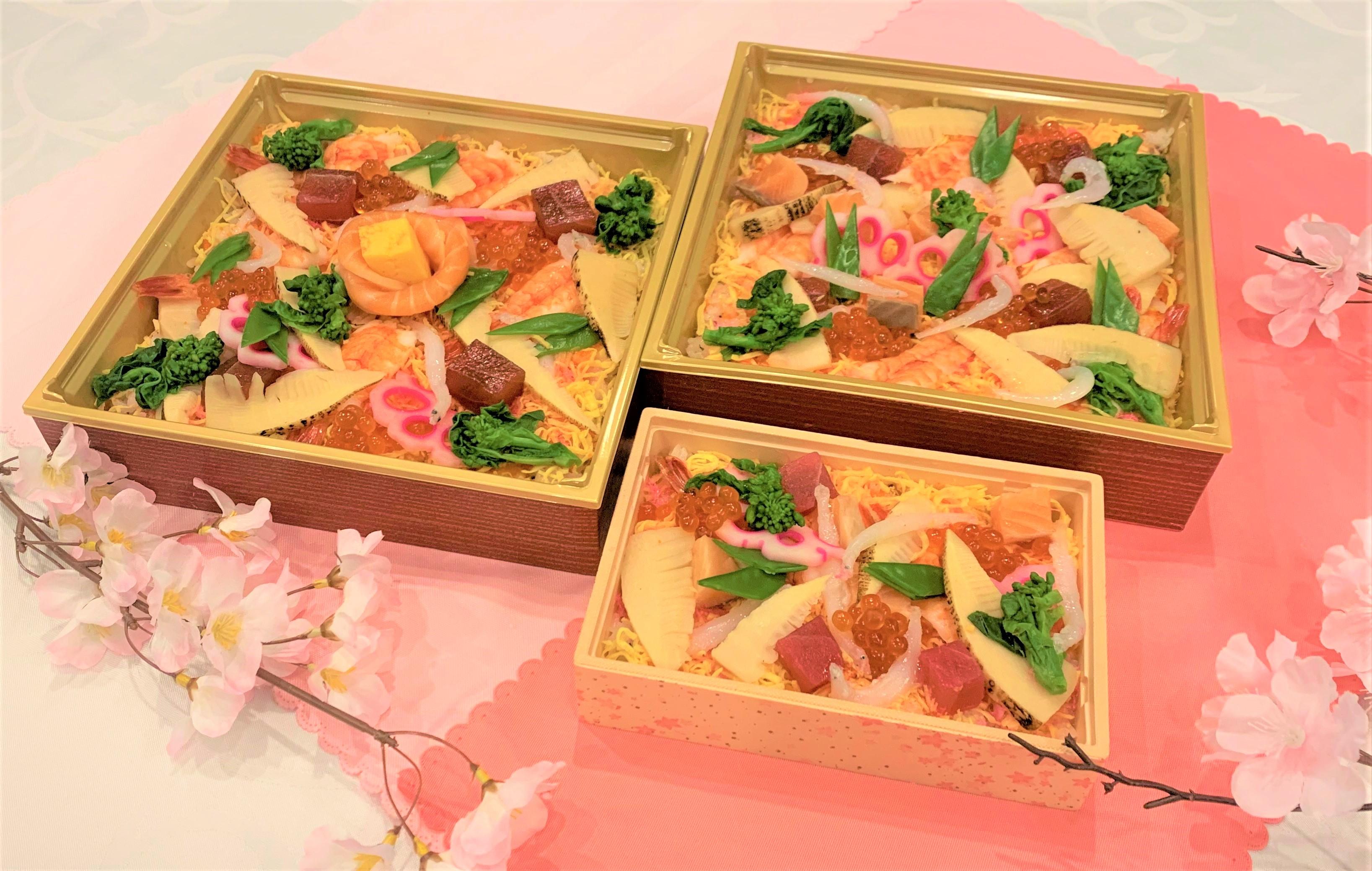 ホテル金沢のひな祭り 特製海鮮ちらし寿司